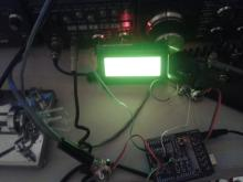The keyer, as I tested it.  No case, just arduino-y goodness.